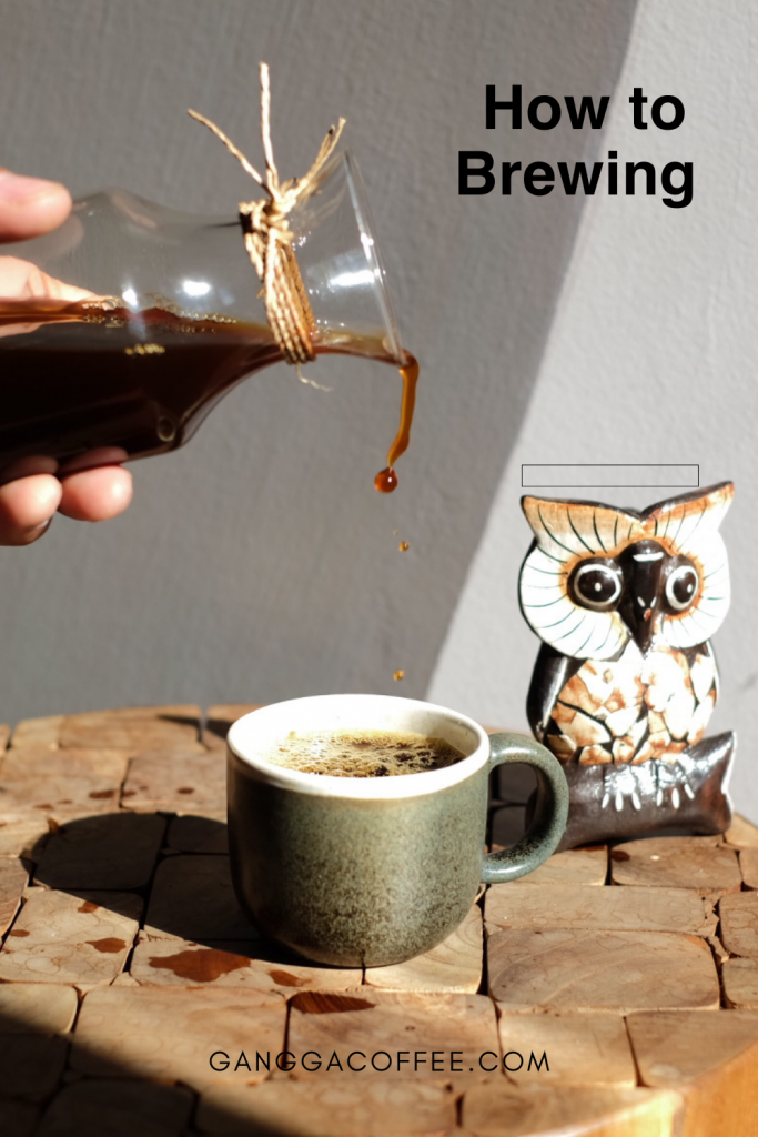 how to brewing coffee drip